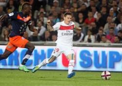 Kevin Gameiro titulaire ce soir à la pointe de l'attaque parisienne.