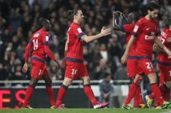 Le PSG possède trois points d'avance sur Lyon.