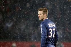 David Beckham est entré à jeu à la 75ème minute de jeu hier contre l'OM.