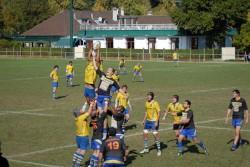 Vincennes (en jaune) menacé par la relégation.