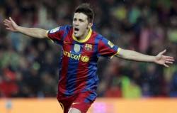 David Villa, l'atout N°1 en cas d'absence de Lionel Messi.