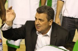 Pascal Donnadieu, l'entraîneur de la JSF Nanterre