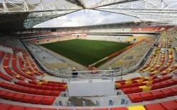 Le club de Drancy pourrait jouer dès ce samedi dans ce grand stade de la MM Arena.