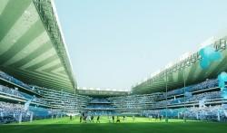Un aperçu de l'Arena92 dont la livraison est prévue en 2016.