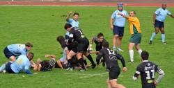 Le MLSGP (en bleu) a frappé fort contre le second Niort.