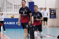 La joie était totale dans le camp parisien après le titre de la Coupe de la CEV.