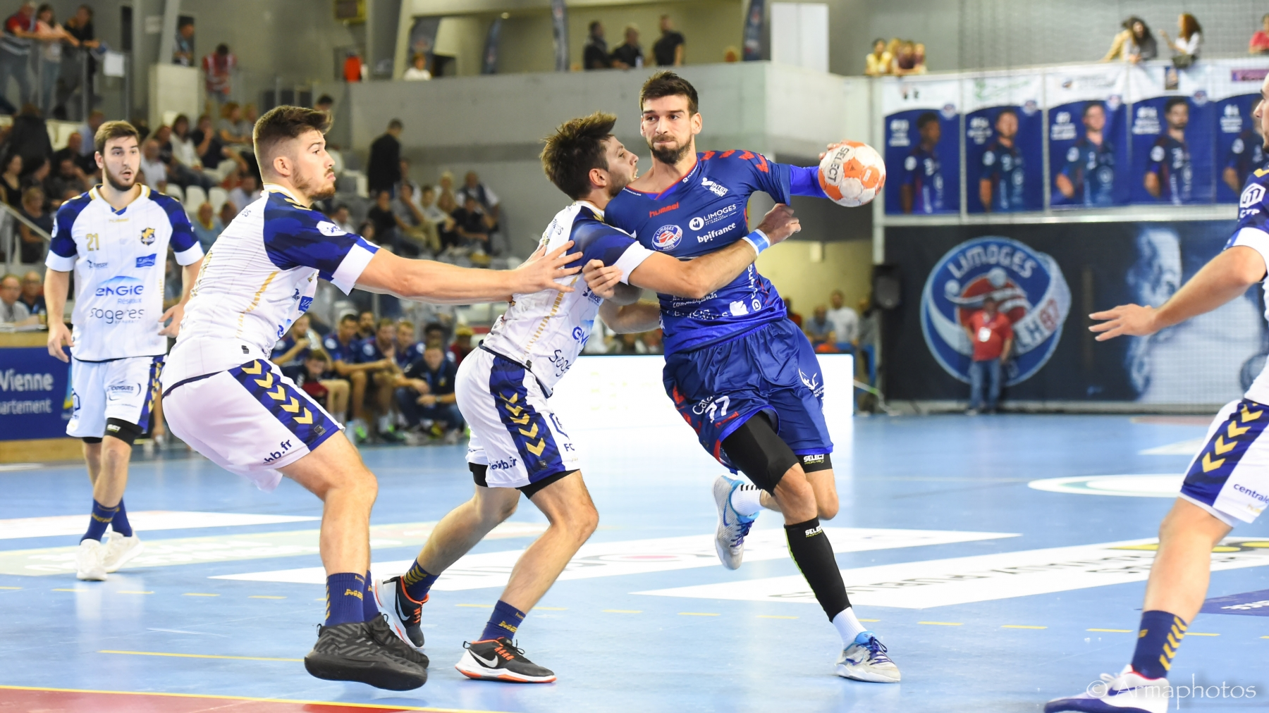 Hand – Proligue (J9) – Massy co-leader après le choc gagné contre Limoges - SportsCo IDF